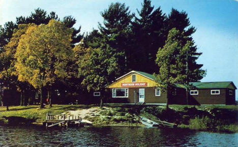 Northern Holiday Resort, Cohasset Minnesota, 1959