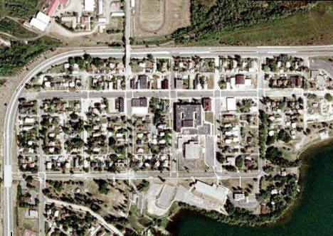 Aerial Photo, Coleraine Minnesota, 2007