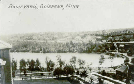 The Boulevard, Coleraine Minnesota, 1910