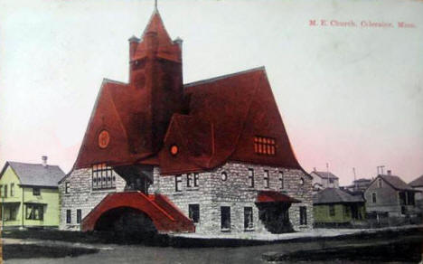 Methodist Episcopal Church, Coleraine Minnesota, 1910