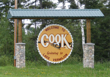 Welcome to Cook Minnesota!