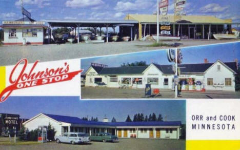 Johnson's One Stop, Orr Minnesota, 1960's