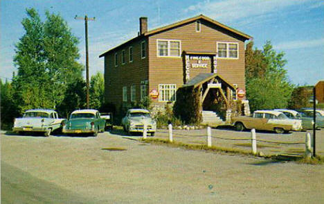 Mecca Hotel and Restaurant, Cook Minnesota, late 1950's
