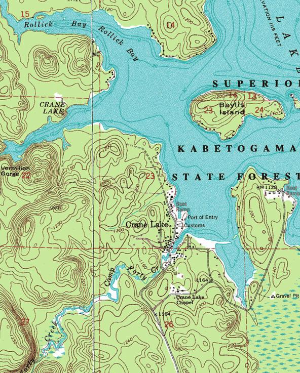 crane lake minnesota map Guide To Crane Lake Minnesota crane lake minnesota map