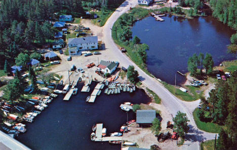 Olson's Resort, Crane Lake Minnesota, 1950's