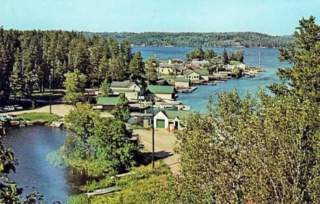 Crane Lake Village in Crane Lake Minnesota, 1960's