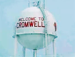 Cromwell Minnesota water tower