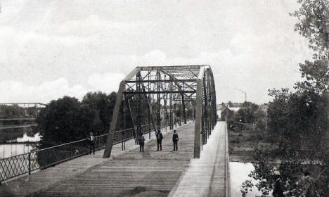Main Street Bridge, Crookston Minnesota, 1908