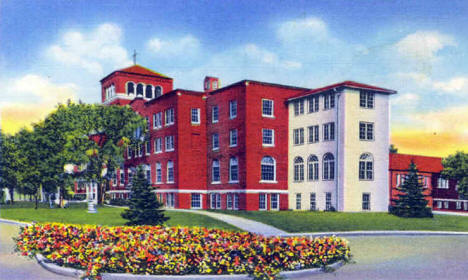 Mount St. Benedict School, Crookston Minnesota, 1936