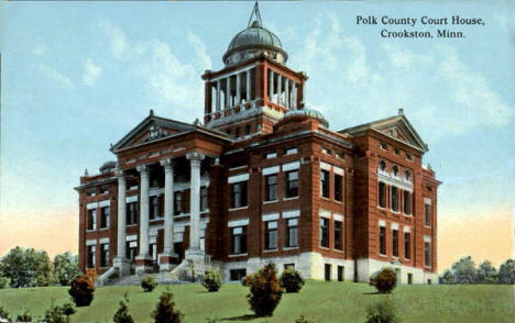 Polk County Court House, Crookston Minnesota, 1914