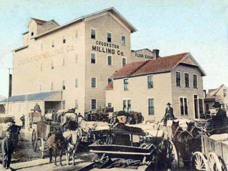 Flour Mill, Crookston Minnesota, 1908