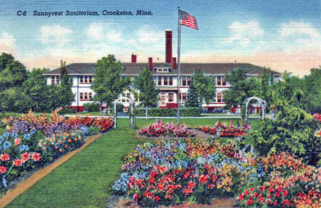 Sunnyrest Sanatorium, Crookston Minnesota, 1948
