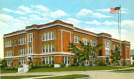 High School Crookston Minnesota 1935
