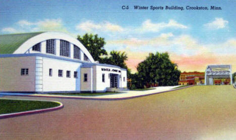 Winter Sports Building, Crookston Minnesota, 1940