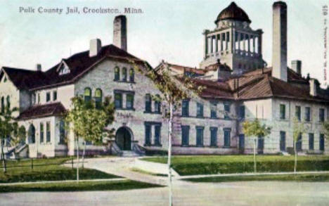 Polk County Jail, Crookston Minnesota, 1910