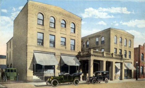 Hotel Crookston Minnesota 1921