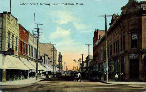 Robert Street, Crookston Minnesota, 1909