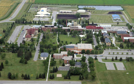 Aerial View, University of Minnesota Crookston Campus, 2005
