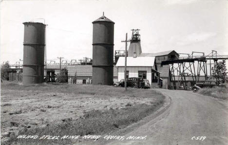 Inland Steel mine, Crosby Minnesota, 1940's