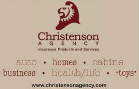 Christenson Insurance Agency, Crosby Minnesota