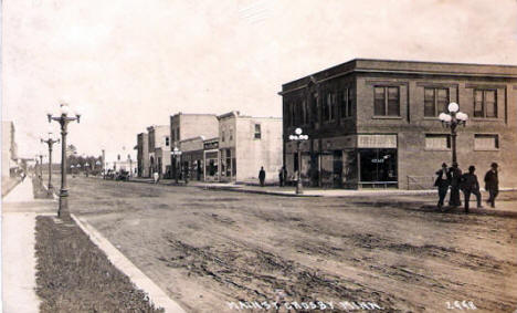 Main Street, Crosby Minnesota, 1910's