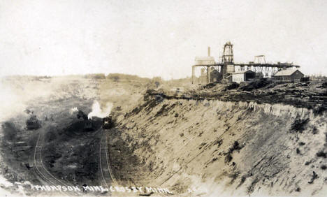 Thompson Mine, Crosby, Minnesota, 1920's