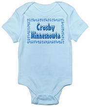 Crosby Minnesnowta Infant Bodysuit