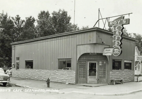 Roy's Cafe, Crosby Minnesota, 1950's