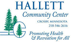 Hallett Community Center, Crosby Minnesota