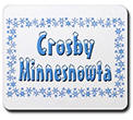 Crosby Minnesnowta Mousepad