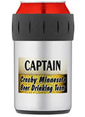 Crosby Beer Drinking Team Aluminum Can Cooler
