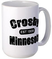 Crosby Established 1909 Large Mug