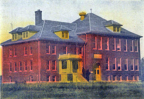 Catholic Convent School, Currie Minnesota, 1900's