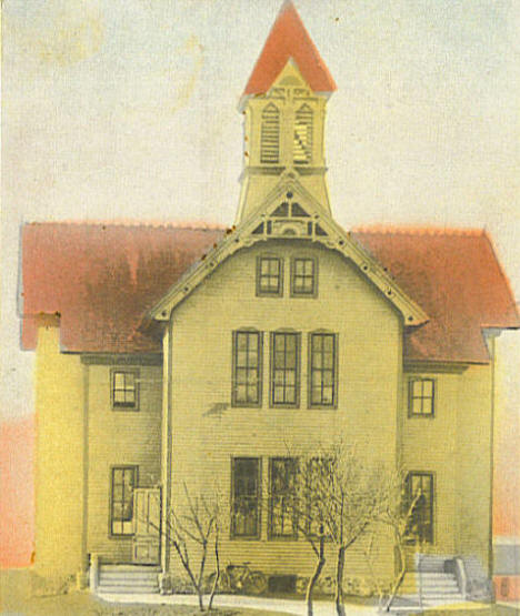 Public School, Currie Minnesota, 1900's