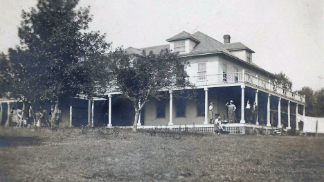 Vahalla Resort on Lake Chetek, Currie Minnesota, 1910