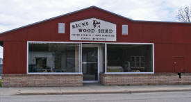 Rick's Wood Shed, Cyrus Minnesota