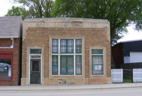 Former Farmers State Bank Building, Cyrus Minnesota, 2008