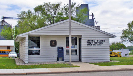 Post Office, Cyrus Minnesota, 2008