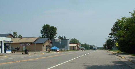 View of Downtown Warba Minnesota, 2006