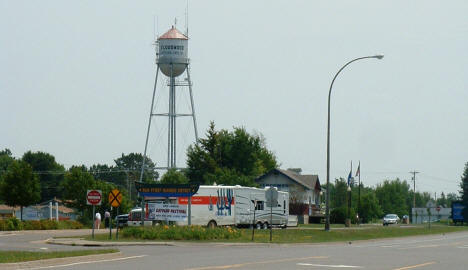 Floodwood Water Tower, 2006