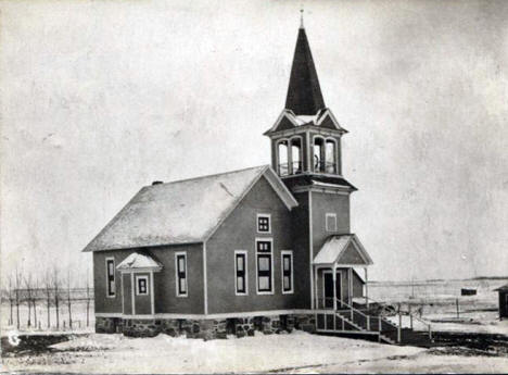 Church, Danube Minnesota, 1907