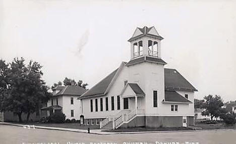 Evangelical United Brethren Church, Danube Minnesota, 1947