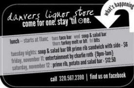 Danvers Municipal Liquors, Danvers Minnesota