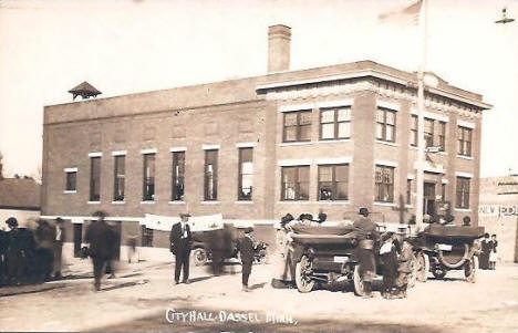 City Hall, Dassel Minnesota, 1910's