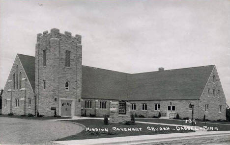 Mission Covenant Church, Dassel Minnesota, 1950's