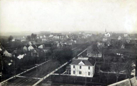 Birdseye View of Dawson Minnesota, 1912