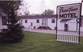 Picket Fence Motel, Dawson Minnesota