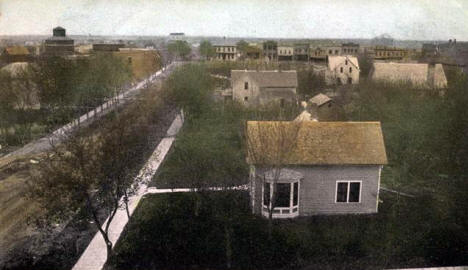 General View, Dawson Minnesota, 1907