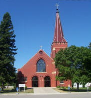 St. Bridget's Catholic Church, De Graff Minnesota