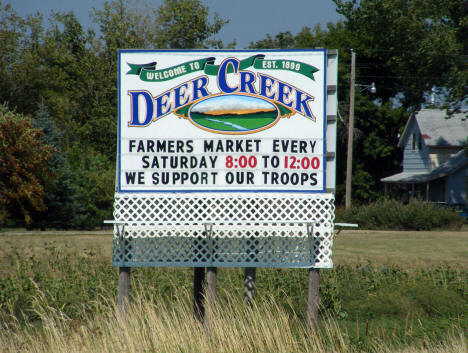 Welcome to Deer Creek Minnesota, 2008